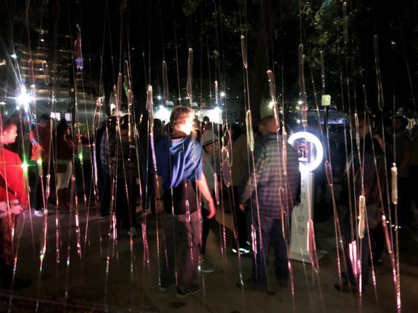 Paula Crown, Freezing Rain, installation, 2018