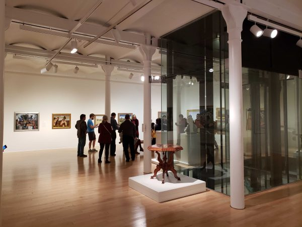 San Antonio Museum of Art gallery Dedicated to Texas Art