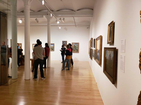 San Antonio Museum of Art gallery Dedicated to Texas Art