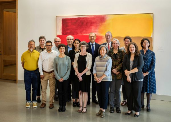 Texas Museum of Fine Arts Houston Conservation department staff