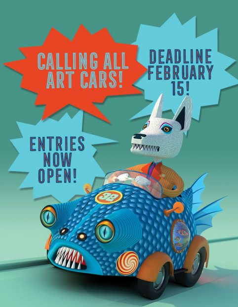 The Orange Show Houston Texas Art Car Parade Call for Entries