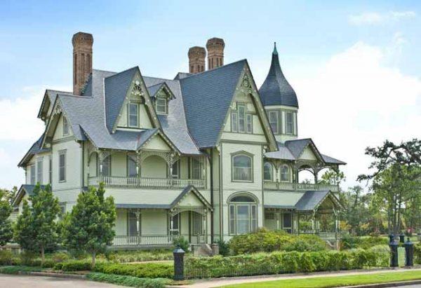 WH Stark House in Orange Texas Tour