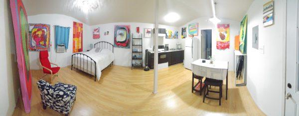 Werk House SA art airbnb by Raul Gonzalez 1