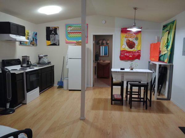 Werk House SA art airbnb by Raul Gonzalez