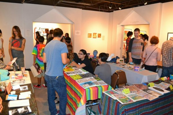 Zine Fest Houston at the printing museum in Montrose