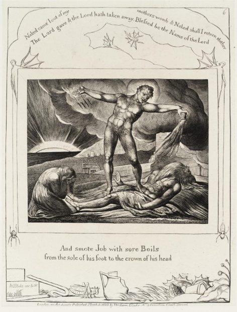 artist William Blake engraving print tate museum