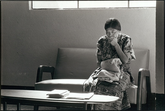 One of Hixson's images from the waiting room of the clinic the artist Dr. Robert Campbell built in Guatemala.