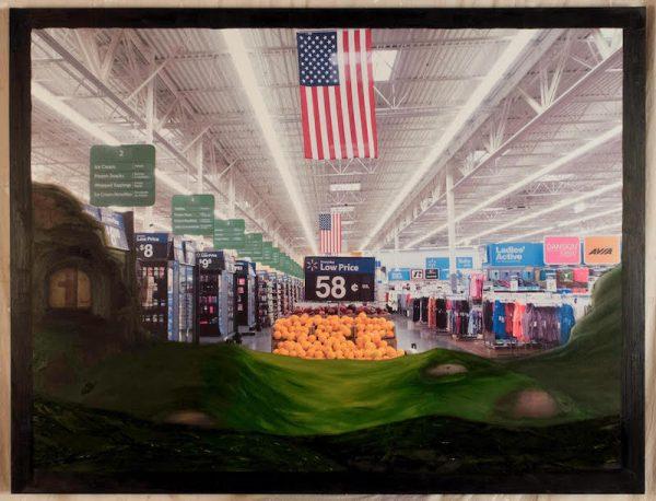 George Hixson, Walmart Sunrise, 2017.