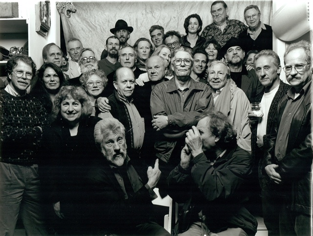 Walter Hopps, artists, and friends on the occasion of the inaugural Walter Hopps Curatorial Award