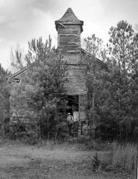 Blackwater Baptist Church, Mississippi, 1991
