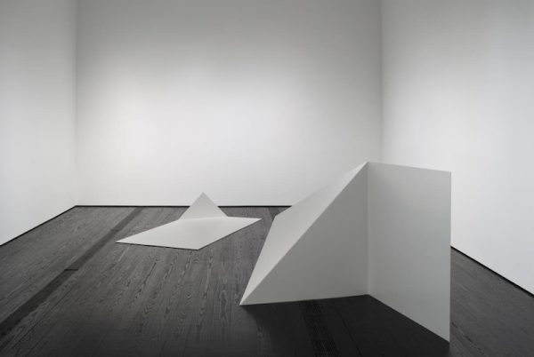 Installation view of Contemporary Focus: Leslie Hewitt at the Menil Collection.