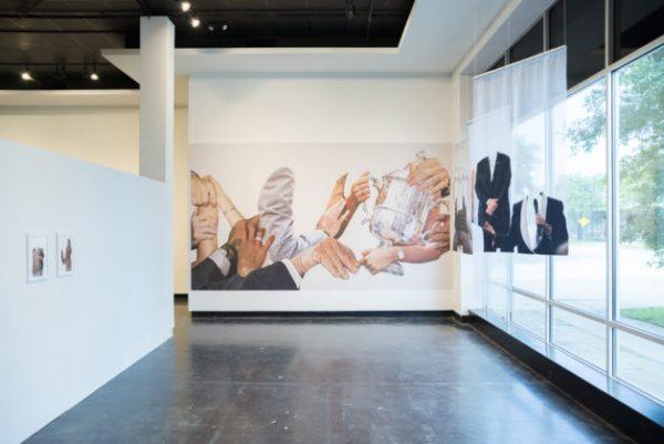 Artist Studio Program art exhibition at Lawndale Art Center in Houston Texas