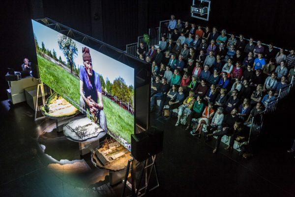 BERLIN Zvizdal performance about Chernobyl disaster