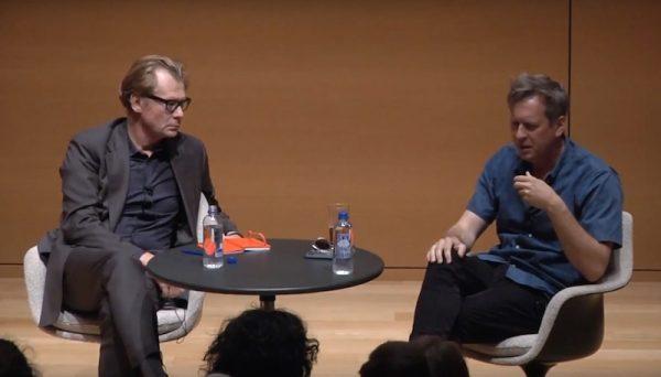 Artist Doug Aitken and MOCA Director Philippe Vergne