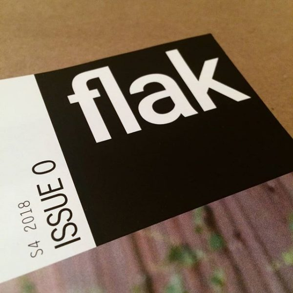 Flak Magazine Issue 0 Houston Texas art publication