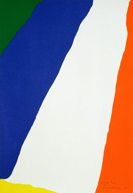 Helen Frankenthaler Foundation Print Initiative Blanton Museum of Art at UT Austin