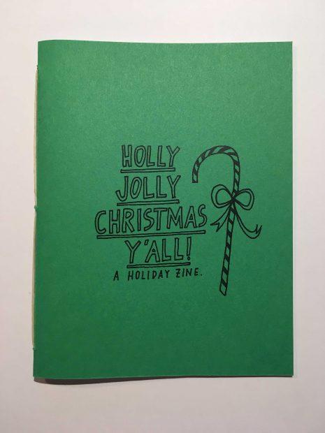 Houston artist Felice Cleveland Christmas Self Published Zine