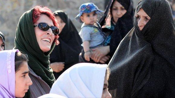 still from Jafar Panahi's 3 Faces