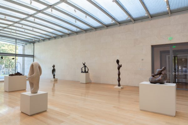 Jean Arp Nasher Sculpture Center permanent collection installation in Dallas Texas