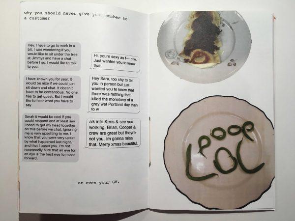 Pennsylvania zine artist Sarah LaPonte Half Stop Press How restaurants work