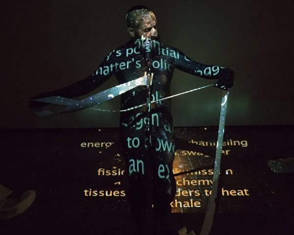 Performance artist Michael Antony Garcia for Experimental Action Festival