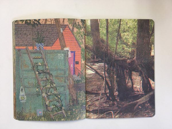 Risograph zine by New Orleans artist Max Seckel