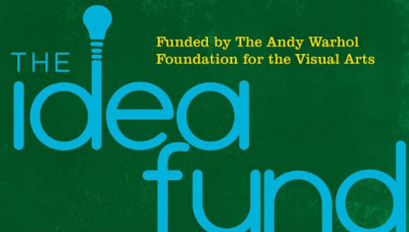The Idea Fund logo Houston Texas grant for artists