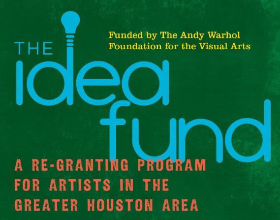 The Idea Fund logo Houston Texas grant for artists