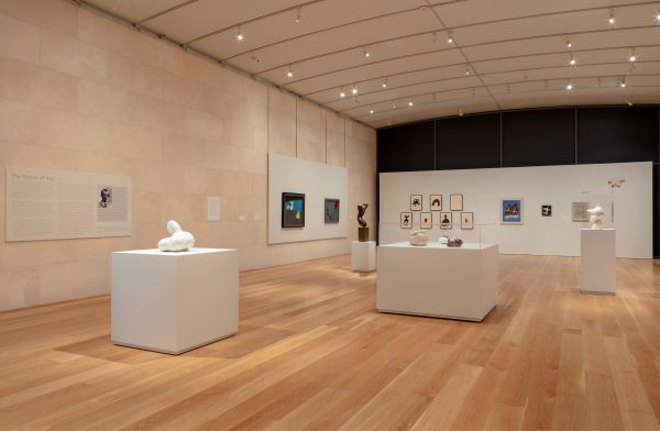 The Nature of Jean Arp art exhibiton at the Nasher Sculpture Center in Dallas Texas
