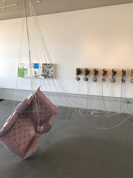 Zach Morriss at 5&J Gallery at CASP, Lubbock