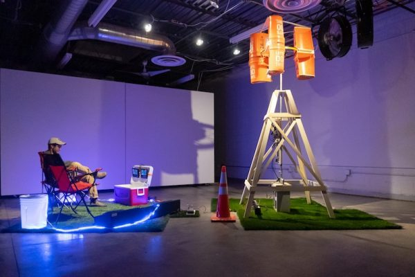 Installation view, Ryder Richards' '2018 Empowerment' at CASP
