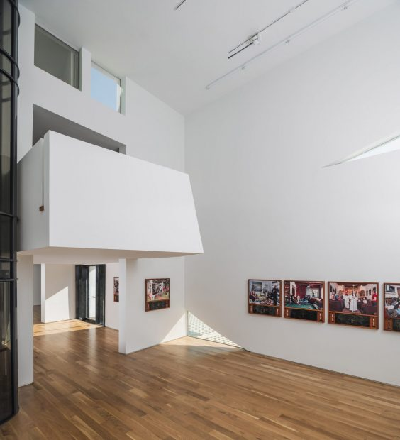 Houston Texas transart foundation art gallery near the menil collection