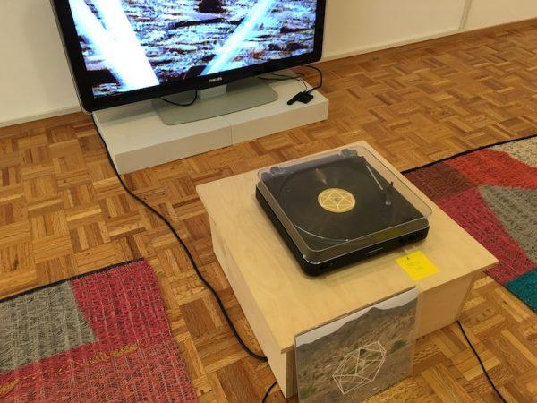 Work by Wes Kline and Erika Lynn Hanson at the Transborder Biennial 2018