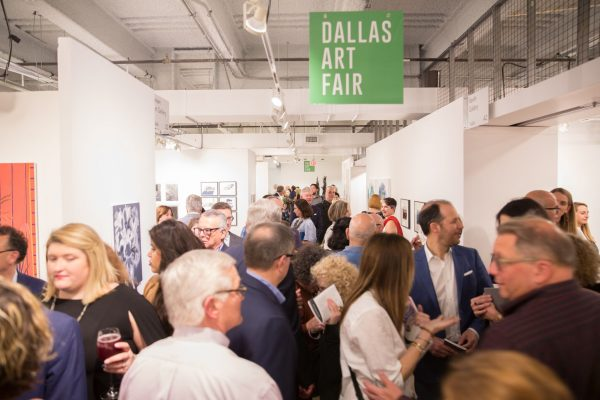 2018 Dallas Art Fair in Dallas Texas