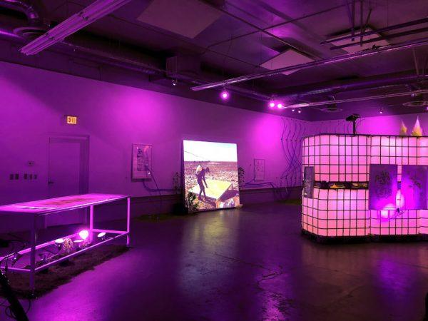 J Eric Simpson, Lubbock City Eternal (Installation view),2018