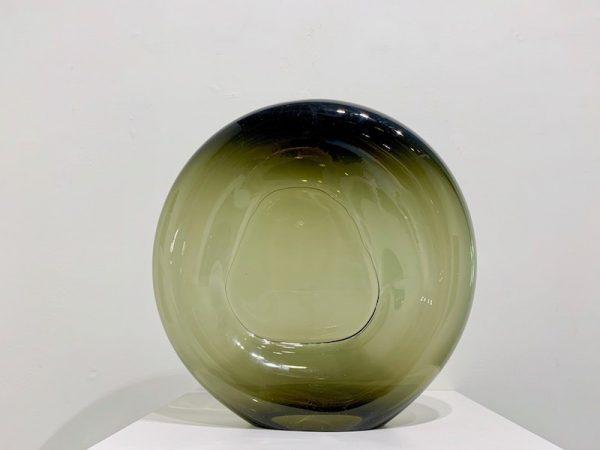 Austin Fields, Touch Series (Green), blown glass
