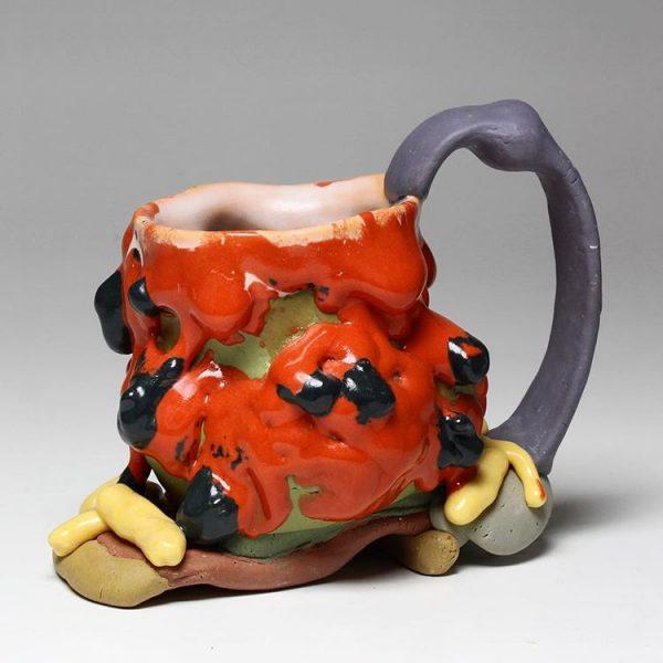 Ceramic Cup by artist NIck Weddell