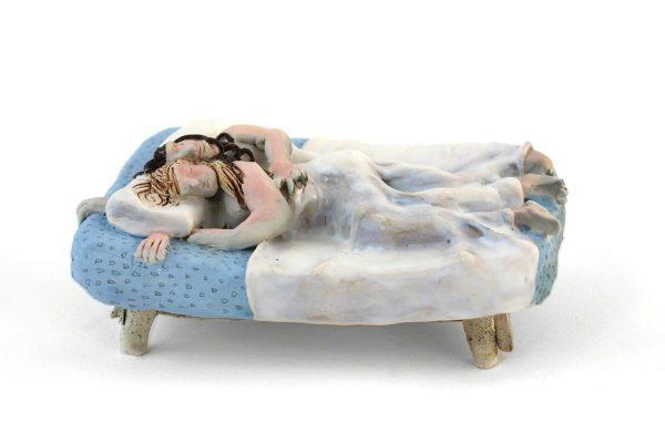 Ceramic sculpture by artist Kate Klingbeil