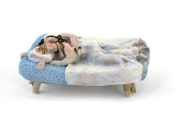 Ceramic sculpture by artist Kate Klingbeil