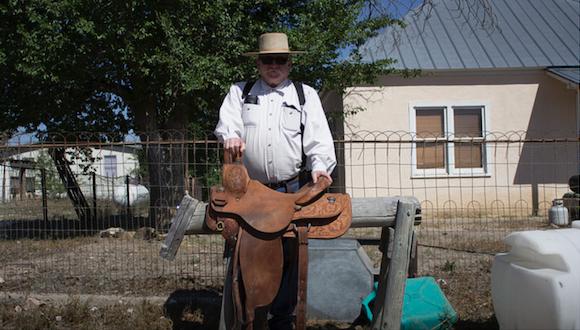 Master Artist Steve Dabbs (Photo courtesy of Texas Folklife)