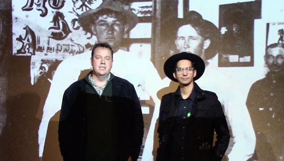 Glasstire top five art shows in Texas with writer Neil Fauerso and artist Michael Menchaca