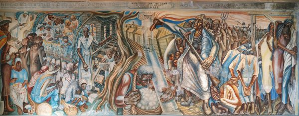 John Biggers Mural The Contribution of Negro Women in American Life and Education in Houston