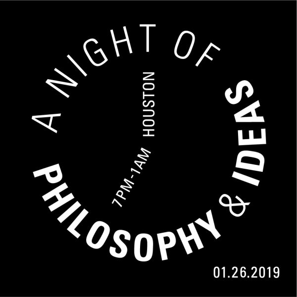 Moody Center for the arts A Night of Philosophy and Ideas 2019