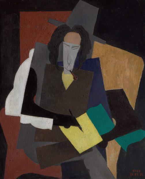 Diego Rivera, Portrait of Ilya Ehrenburg, 1915 Oil on canvas