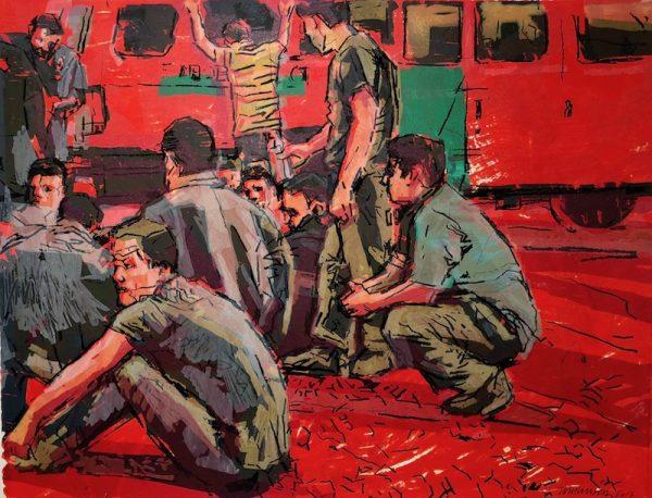 Ron Tomlinson, Reynosa Red 2, 2017