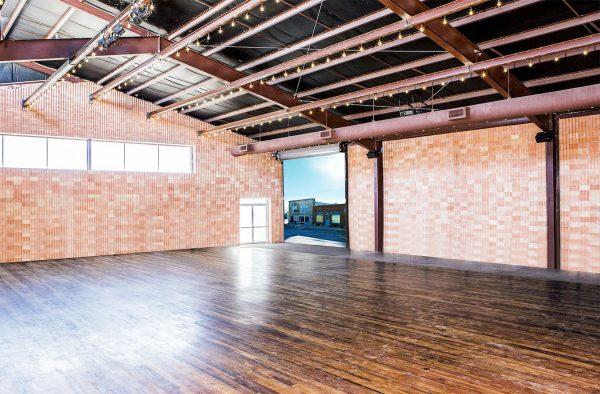 Saint George Hall event space in Marfa Texas