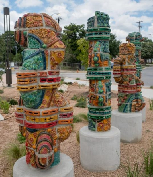 San Antonio artist Diana Kersey Ceramic sculptures