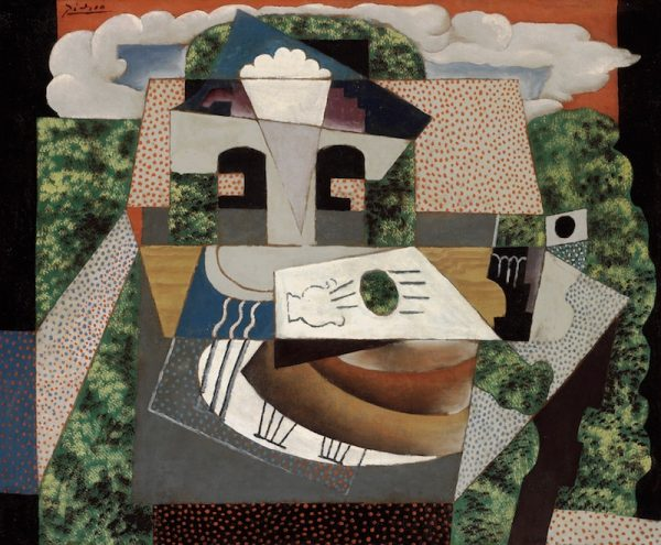Pablo Picasso, Still Life in a Landscape, 1915.