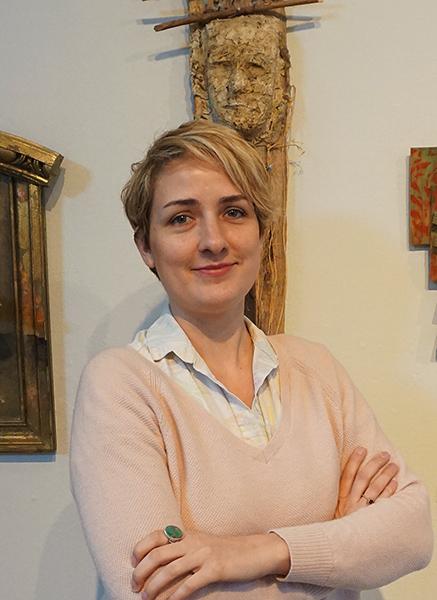 Texas curator Mariah Rockefeller