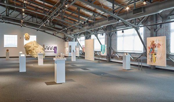 Women's museum vignette art fair of women artists in Dallas